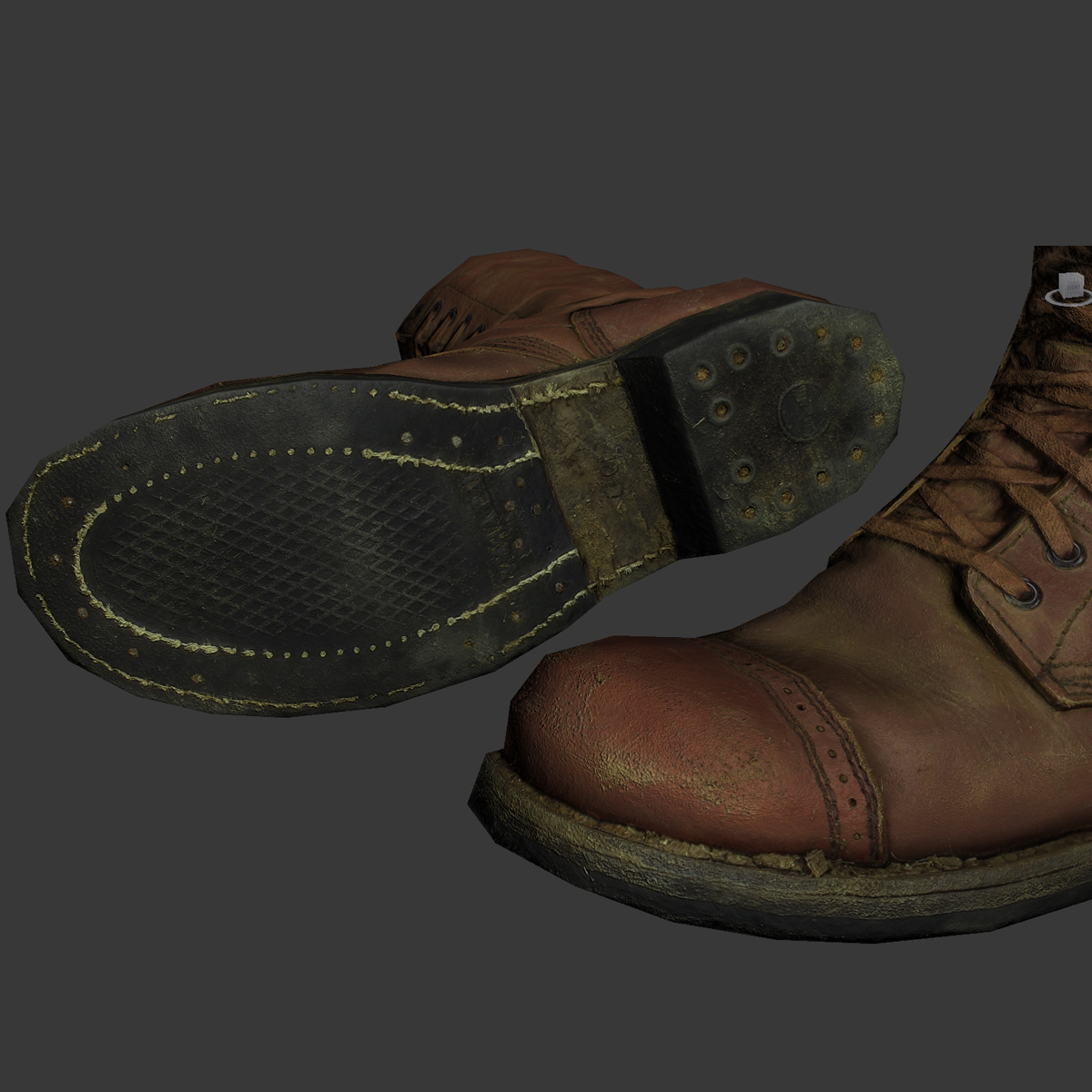 Soldier Boots – WW2 US Paratrooper   BASEmesh